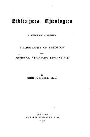 Bibliotheca Theologica PDF
