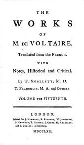 The Works of M. de Voltaire: Annals of the Empire. v. 23. Candid, or, the optimist