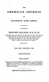 The American Journal of Science and Arts: Volume 25