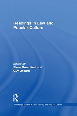 Readings in Law and Popular Culture PDF