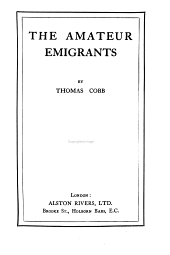 The amateur emigrants