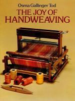 The Joy of Hand Weaving