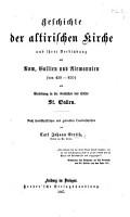 Geschichte der altirischen Kirche und ihrer Verbindung mit Rom  Gallien und Alemannien von 430 630  als Einleitung in die Geschichte des Stifts St  Gallen  etc PDF