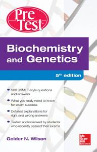 Biochemistry and Genetics Pretest Self Assessment and Review 5 E PDF