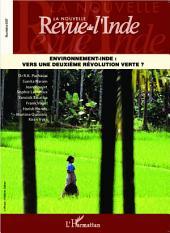 Environnement-Inde : vers une deuxième révolution verte ?