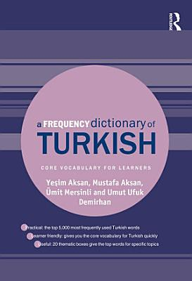 A Frequency Dictionary of Turkish PDF