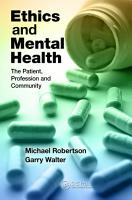 Ethics and Mental Health PDF