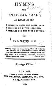 Hymns and Spiritual Songs ... Corrected, and accomodated to the use of the Church of Christ in America