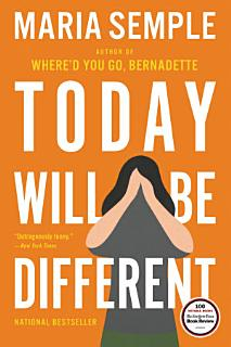 Today Will Be Different Book