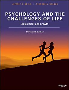 Psychology and the Challenges of Life  Binder Ready Version Book