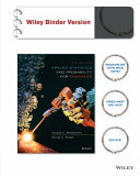 Applied Statistics and Probability for Engineers 6e Binder Ready Version   WileyPLUS Registration Card