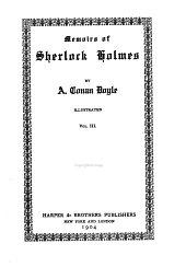 Sherlock Holmes Series: Memoirs of Sherlock Holmes