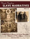 North Carolina Slave Narratives Vol  2 PDF