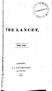 The Lancet: Volumes 7-8