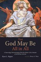 That God May Be All in All PDF