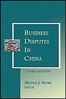 Business Disputes in China   3rd Edition PDF