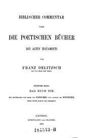 Biblischer Commentar über die poetischen Bücher des Alten Testaments: Band 2;Band 4