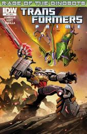 Transformers: Prime - Rage of the Dinobots #4