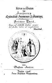 Leben und Thaten des Freiherrn Quinctius Heymeran von Flaming: Band 3
