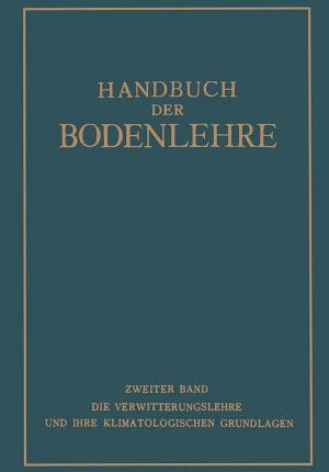 Handbuch der Bodenlehre PDF