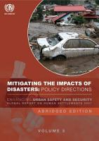 Global Report on Human Settlements 2007 Volume 3  PDF