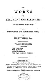 The works of Beaumont and Fletcher: in fourteen volumes: with an introduction and explanatory notes, Volumes 9-10