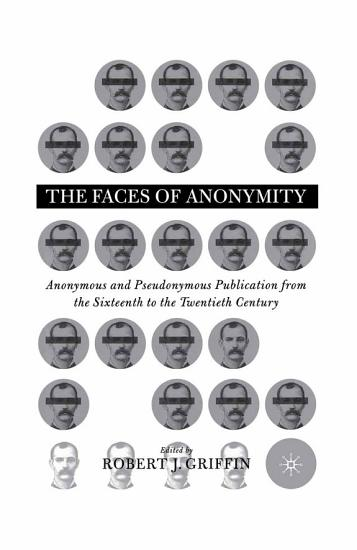 Faces of Anonymity PDF