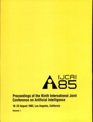 Proceedings of the Ninth International Joint Conference on Artificial Intelligence PDF
