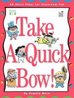 Take a Quick Bow  PDF