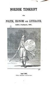 Nordisk tidskrift för politik, ekonomi och litteratur: Volym 2