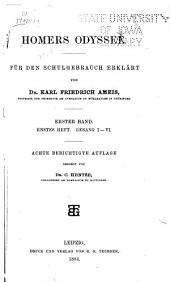 Anhang zu Homers Odyssee: Volumes 1-2