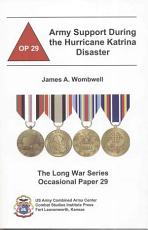 Army Support During the Hurricane Katrina Disaster PDF