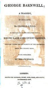 George Barnwell. Fatal Curiosity
