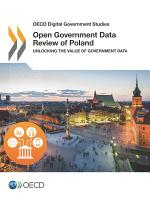 OECD Digital Government Studies Open Government Data Review of Poland Unlocking the Value of Government Data
