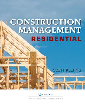 Construction Management  Residential  Loose leaf Version