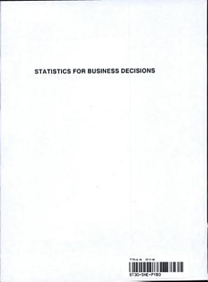 Statistics for Business Decisions