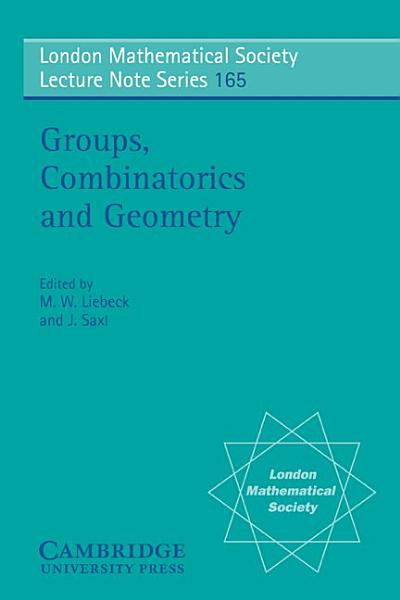 Groups Combinatorics Geometry