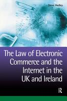 The Law of Electronic Commerce and the Internet in the UK and Ireland PDF