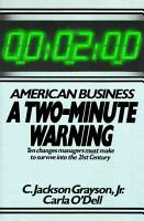 American Business  a Two minute Warning PDF