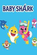 Baby Sharks Marine Life Sea Ocean Shark Family Gift Notebook / Journal