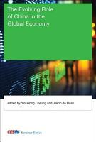 The Evolving Role of China in the Global Economy PDF