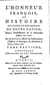 L' honneur françois: Volume9