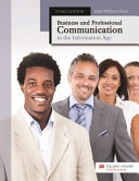 Business and Professional Communication in the Information Age Book