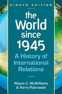 The World Since 1945 PDF