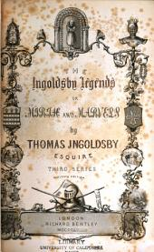 The Ingoldsby Legends, Or Mirth and Marvels: Volume 2