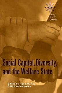Social Capital  Diversity  and the Welfare State Book