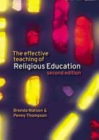 The Effective Teaching of Religious Education PDF