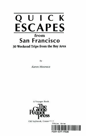 Quick Escapes from San Francisco
