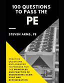 100 Questions to Pass the Pe  Practice Questions and Answers to Prepare for the Principles and Practice of Engineering Exam  HVAC and Refrigeration
