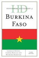 Historical Dictionary of Burkina Faso PDF